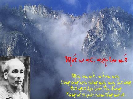 Phân tích bài thơ Đi đường của Hồ Chí Minh