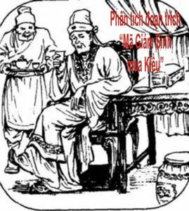Phân tích đoạn Mã Giám Sinh mua Kiều trong Truyện Kiều của Nguyễn Du