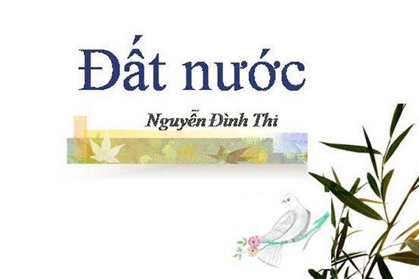 Cảm nhận của anh (chị) về hình ảnh quê hương đất nước trong Đất nước của Nguyễn Đình Thi